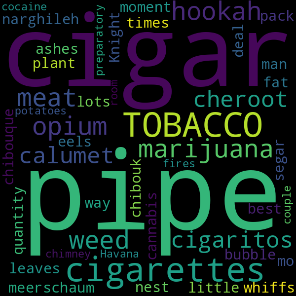 10 collocations for « smoking »