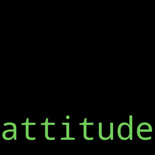 50 example sentences with « attitude »