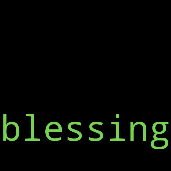 20 example sentences with « blessing »