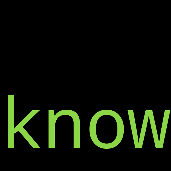 20 example sentences with « know »