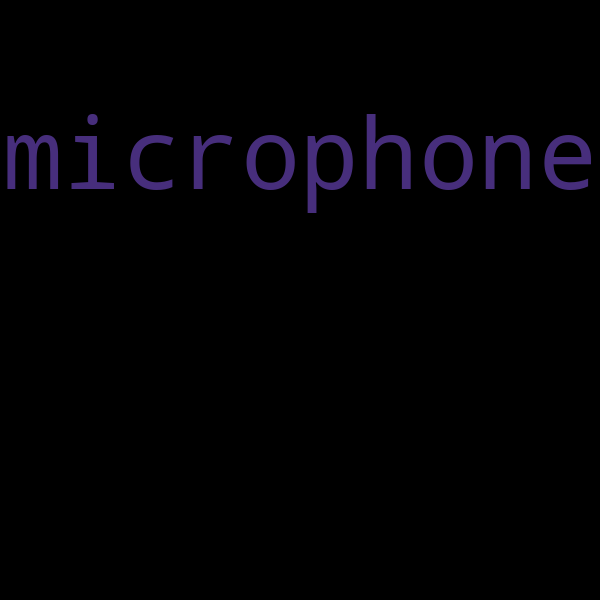 6 example sentences with « microphone »