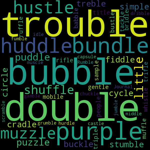 3 Words that Rhyme with « couple