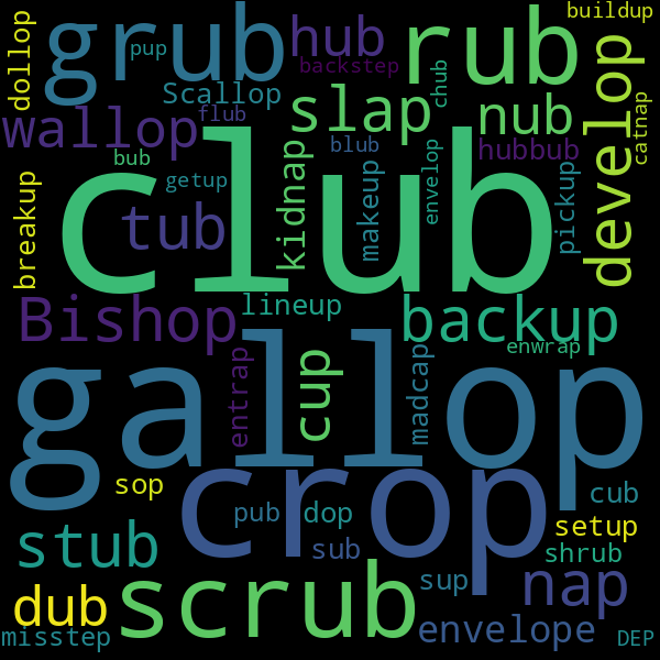 10 Words That Rhyme With « Up