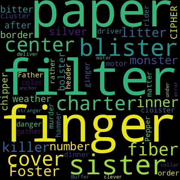 1 words that rhyme with  u00ab whisper