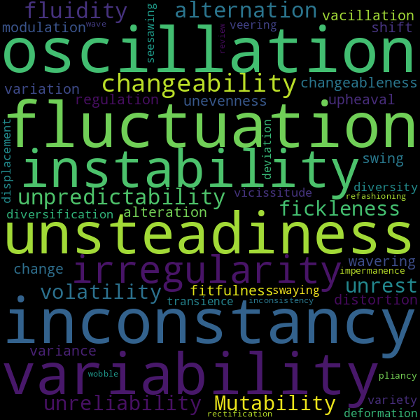 12 Synonyms for « flux »