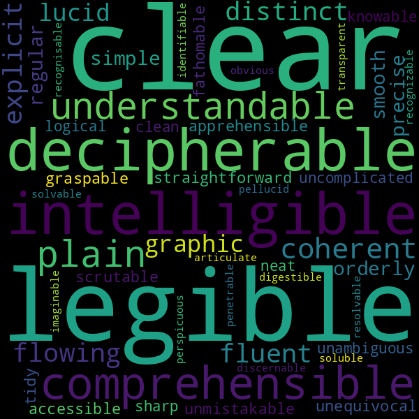 21 Synonyms For Readable Understand distinct meaning and enrich your. inspirassion