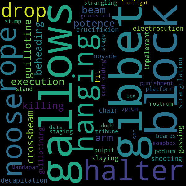 7 Synonyms for « scaffold »