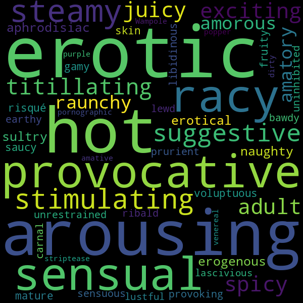 17 Synonyms For Sexy